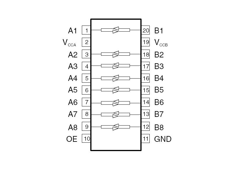 breakout board  level 3v  5v  8