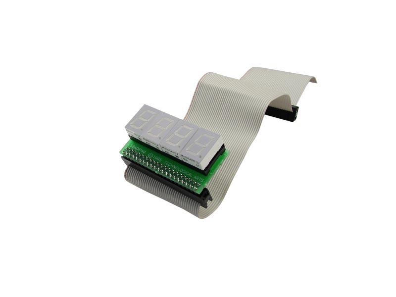 Ribbon Cable Socket : Adapter pin dip socket to ribbon cable
