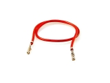 Wire, Red, 6 in, 10 pcs.