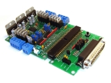 3-axis Stepper Motor Driver Board with Parallel Port Interface