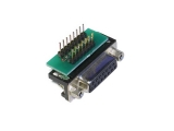 D-Sub Adapters, 15-pin socket, right-angle