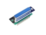 D-Sub Adapters, 25-pin socket