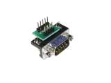 D-Sub Adapters, 9-pin plug, right-angle