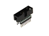 IDC Ribbon Cable-to-breadboard adapter, 16-pin