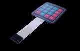Keypad, 4x4, Hex, Membrane Style