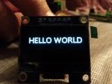 OLED, 1.3-inch, 128x64, SPI