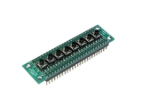 Pushbutton array for Solderless Breadboard