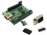 USB/Xbee/RS232 Multi-mode Interface Module