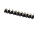 header, dual-row, 40-pin, male, straight