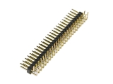header, male, dual row, right-angle, 50-pin