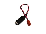 power cable adapter, barrel to 2-pin