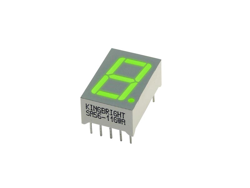 7 Segment Led Display Ca Green
