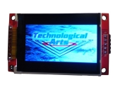 2.2-in. SPI TFT LCD with SD card support