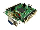 Adapt9S12DP512SM0 with Serial Monitor, min. config.