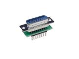 D-Sub Adapters, 15-pin plug
