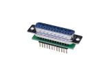 D-Sub Adapters, 25-pin plug