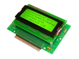 Display/Kbrd/Keypad Interface, 20x4 backlit LCD, rear-facing
