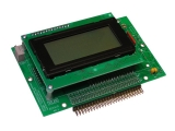 Display/Keyboard/Keypad Interface with 16x4 LCD, rear-facing