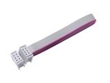 Ribbon cable, 6-pin to 6-pin, 12-inch