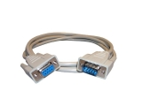 Serial cable, 9-pin male to 9-pin female