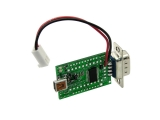USB-to-RS232 comport adapter with 3V/5V power breakout